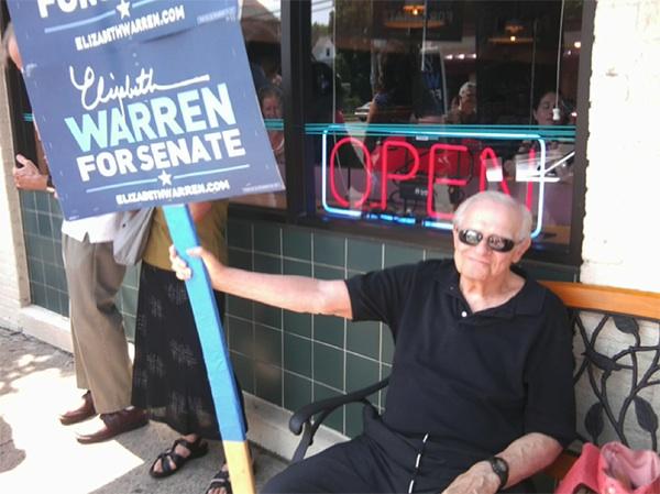 Elizabeth Warren - Arlington Diner