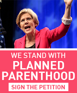 We stand with Planned Parenthood
