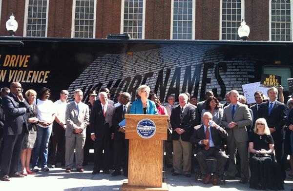 Elizabeth Warren Mayors Against Illegal Guns
