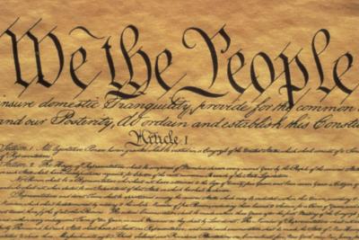 US Constitution title