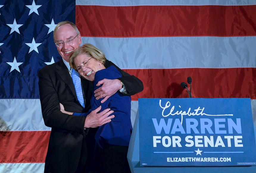 Elizabeth and her husband, Bruce Mann